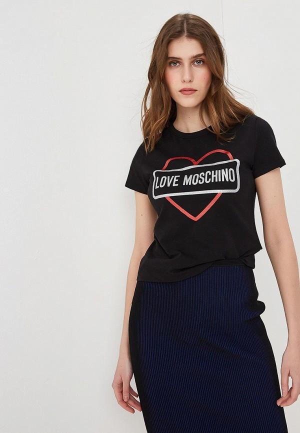 Футболка Love Moschino Love Moschino LO416EWEDAU3 все цены