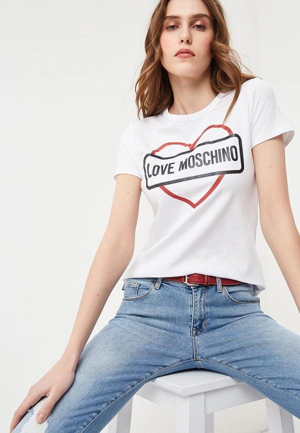 Футболка Love Moschino Love Moschino LO416EWEDAU4