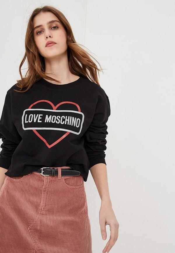 купить Свитшот Love Moschino Love Moschino LO416EWEDAU7 онлайн