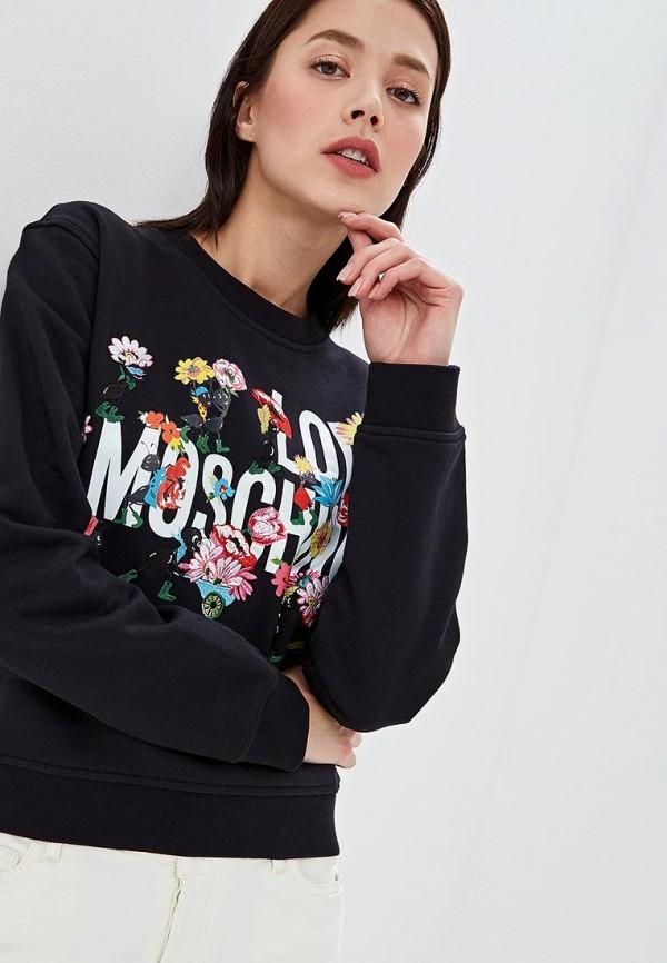 Свитшот Love Moschino Love Moschino LO416EWEDAU9