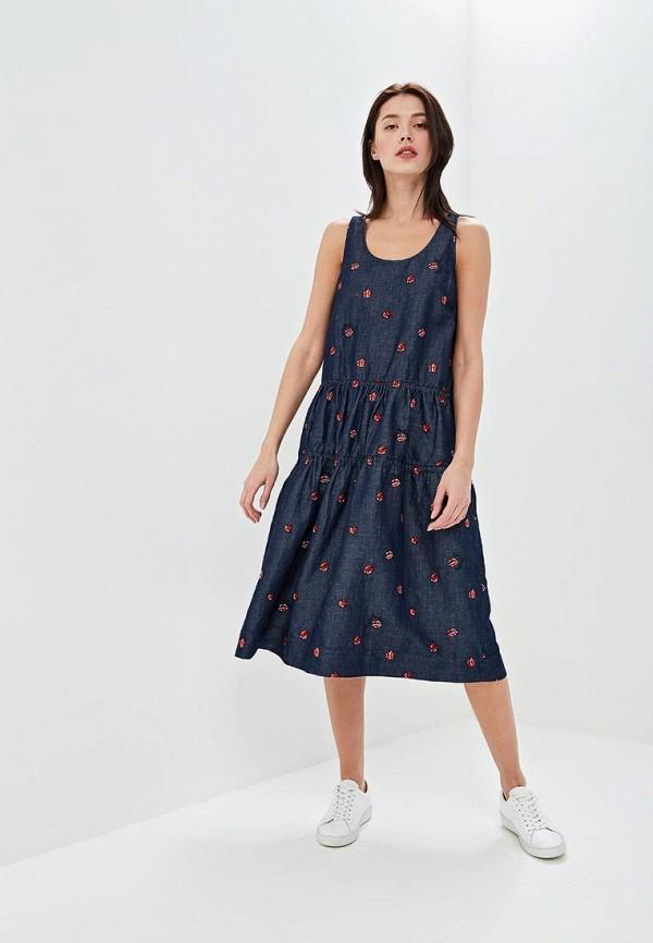 Платье Love Moschino Love Moschino LO416EWEDAV6 недорго, оригинальная цена