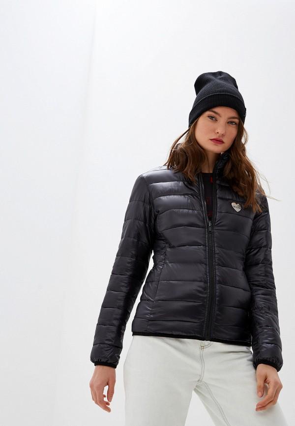 Фото - Куртку утепленная Love Moschino черного цвета