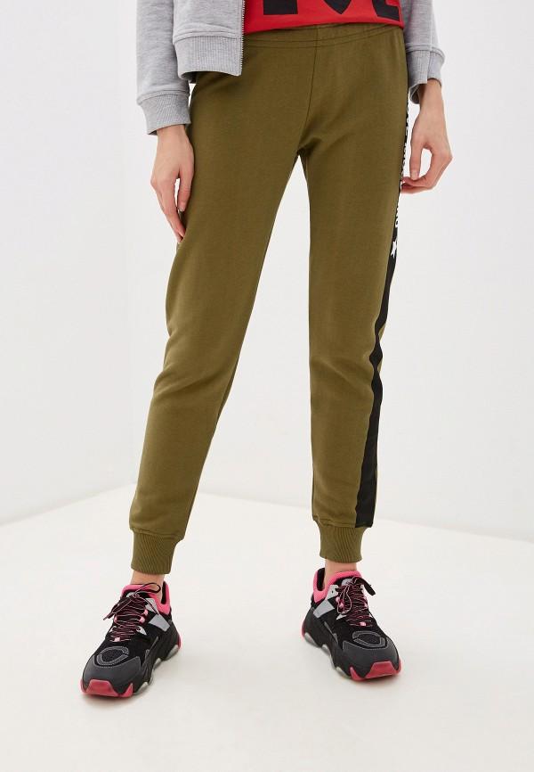 женские спортивные брюки love moschino, хаки