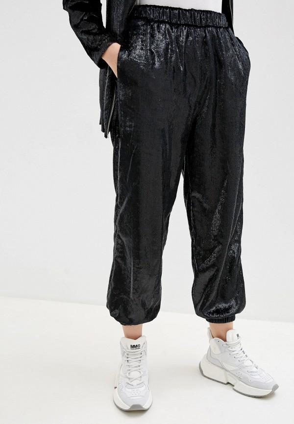 женские классические брюки love moschino, черные