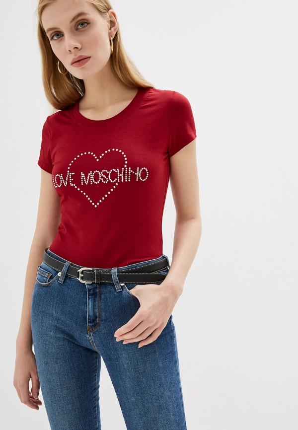 Футболка Love Moschino Love Moschino LO416EWFXJI1 футболка love moschino love moschino lo416ewdrjh6