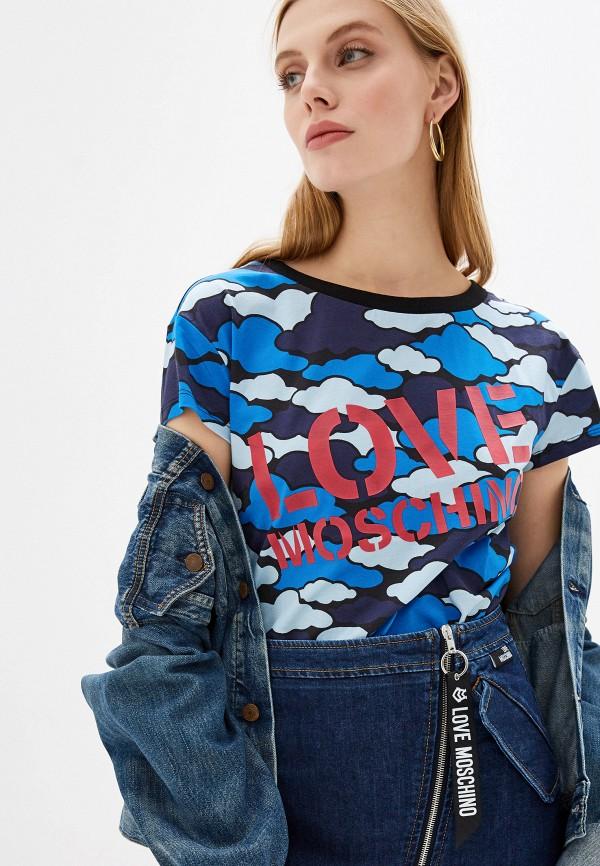 Футболка Love Moschino Love Moschino LO416EWFXJI3 футболка love moschino love moschino lo416ewdrjh6