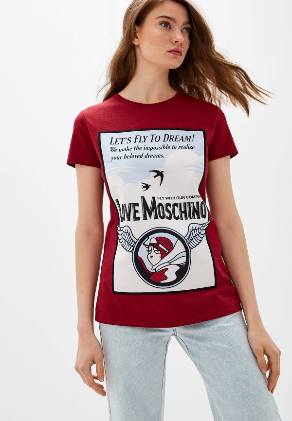 Футболка Love Moschino Love Moschino LO416EWFXJI5