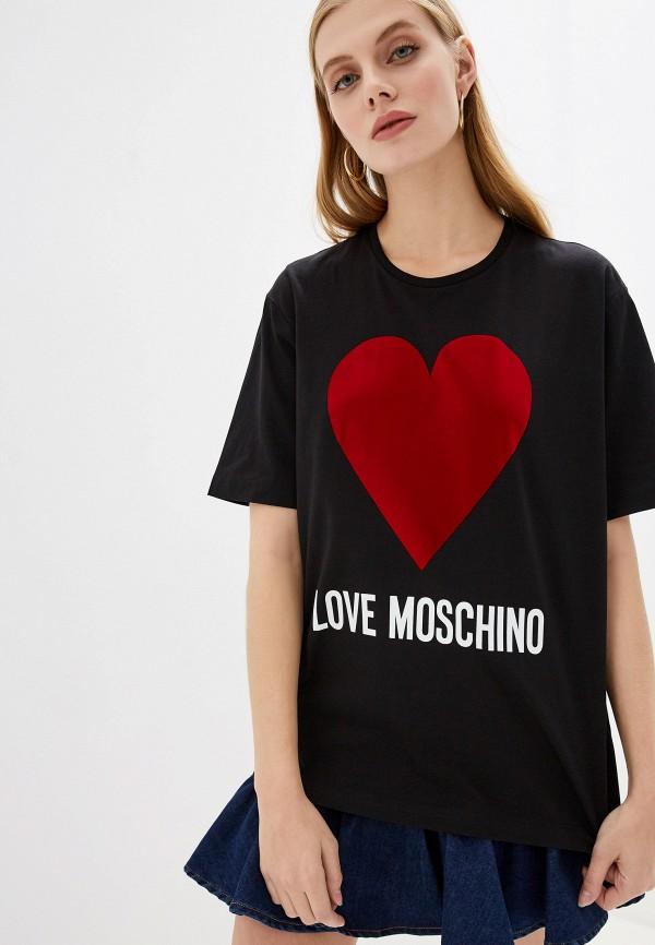 Футболка Love Moschino Love Moschino LO416EWFXJI7 футболка love moschino love moschino lo416ewdrjg8