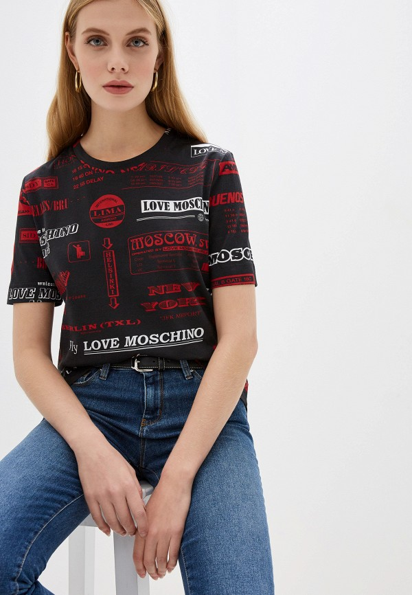 Футболка Love Moschino Love Moschino LO416EWFXJJ1