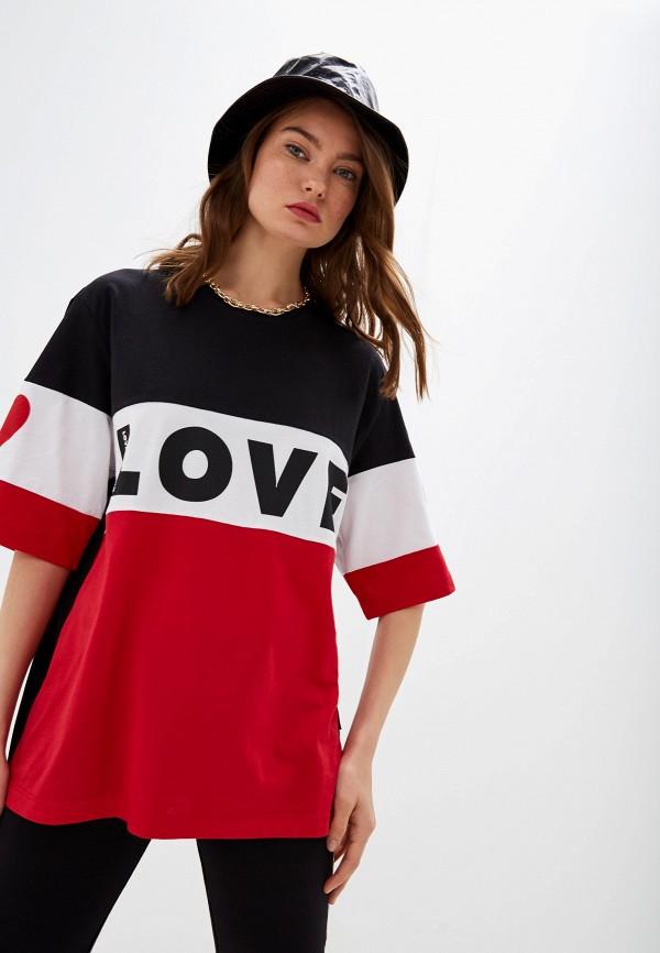 Футболка Love Moschino Love Moschino LO416EWFXLR1 футболка love moschino love moschino lo416ewdrjh6