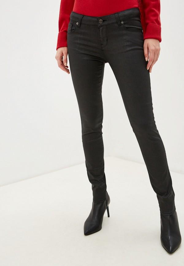 женские джинсы love moschino, черные