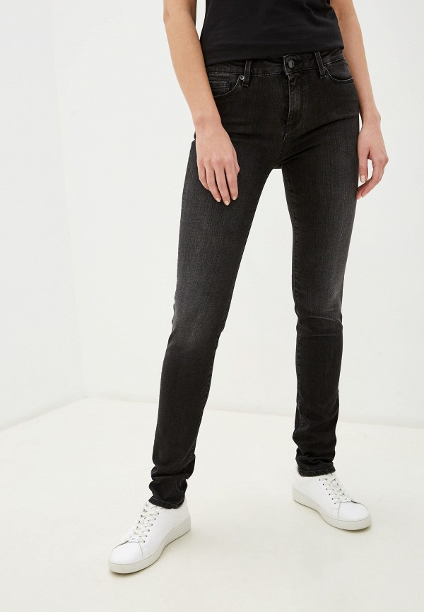 женские джинсы love moschino, серые