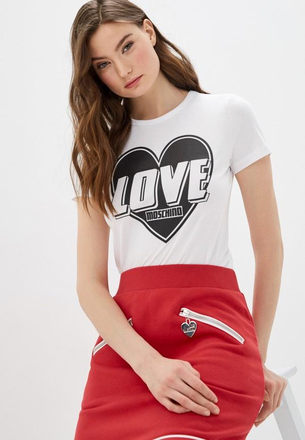 Фото - Футболка Love Moschino Love Moschino LO416EWHRDB8 футболка love moschino футболка