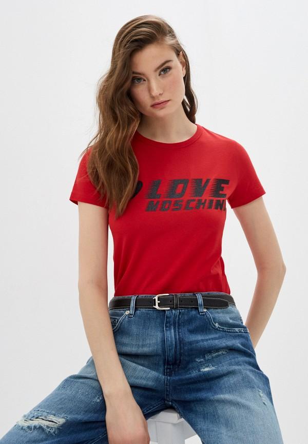 Футболка Love Moschino Love Moschino LO416EWHRDC3 футболка love moschino love moschino lo416ewfxlq9