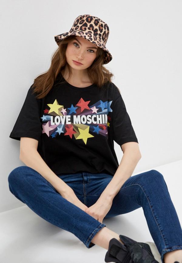 Фото - Футболка Love Moschino Love Moschino LO416EWHRDC5 футболка love moschino футболка