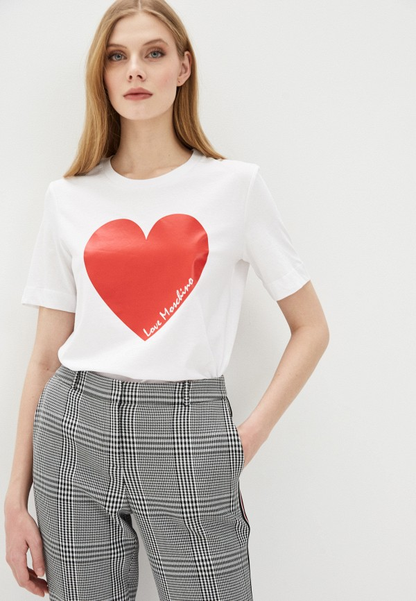 Фото - Футболка Love Moschino Love Moschino LO416EWHRDC6 футболка love moschino футболка