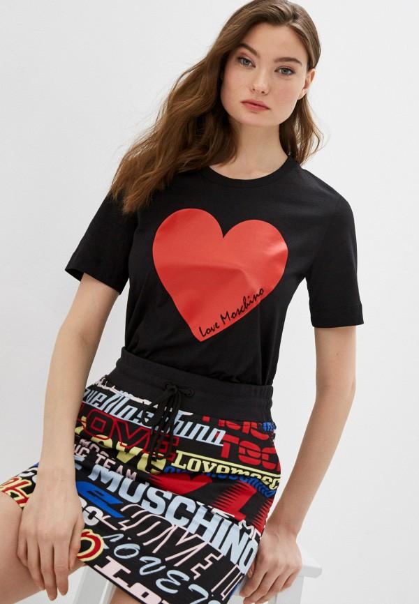 Фото - Футболка Love Moschino Love Moschino LO416EWHRDC7 футболка love moschino футболка