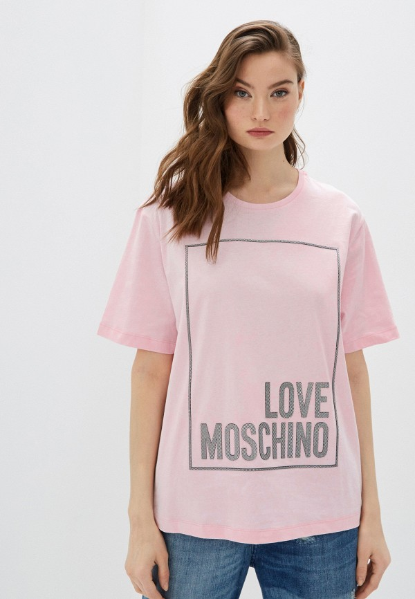 Фото - Футболка Love Moschino Love Moschino LO416EWHRDC8 футболка love moschino футболка