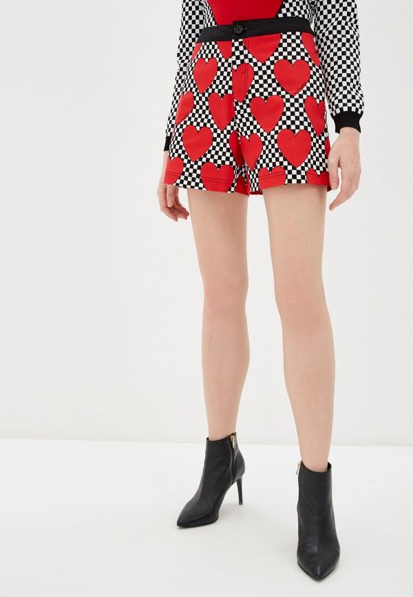 женские повседневные шорты love moschino, разноцветные