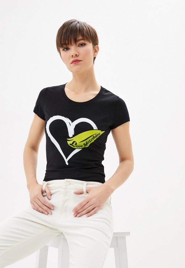 Фото - Футболка Love Moschino Love Moschino LO416EWHYUZ7 футболка love moschino футболка