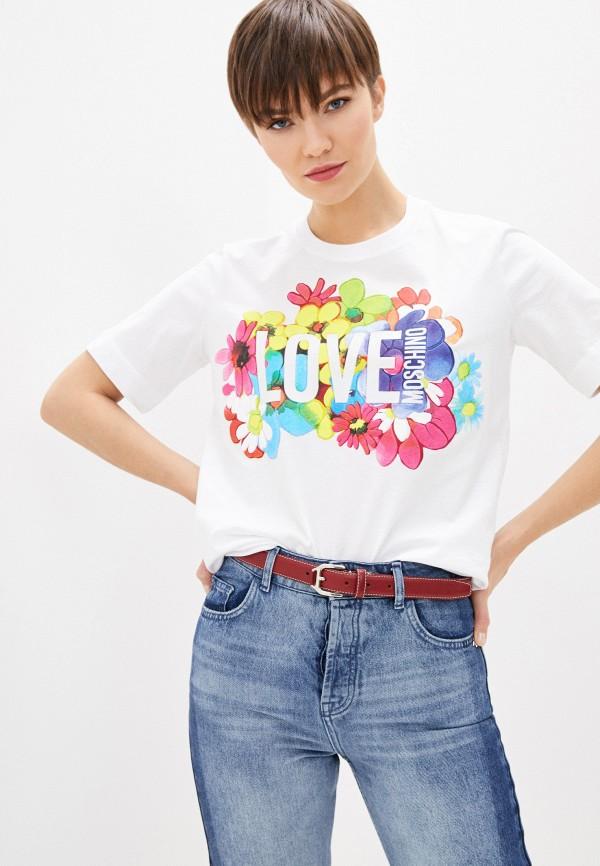 Фото - Футболка Love Moschino Love Moschino LO416EWHYUZ8 футболка love moschino футболка