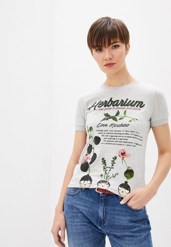 Фото - Футболка Love Moschino Love Moschino LO416EWHYVA3 футболка love moschino футболка