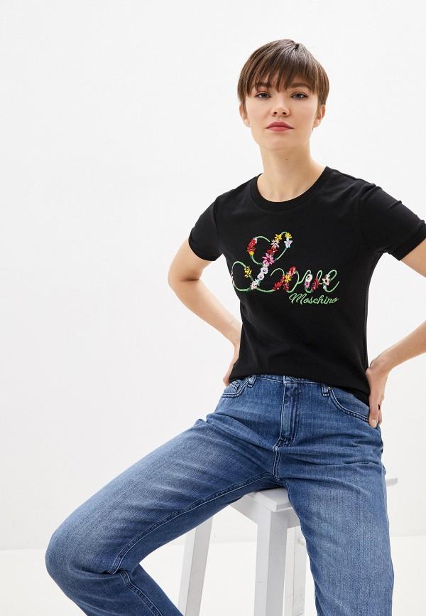 Фото - Футболка Love Moschino Love Moschino LO416EWHYVA4 футболка love moschino футболка