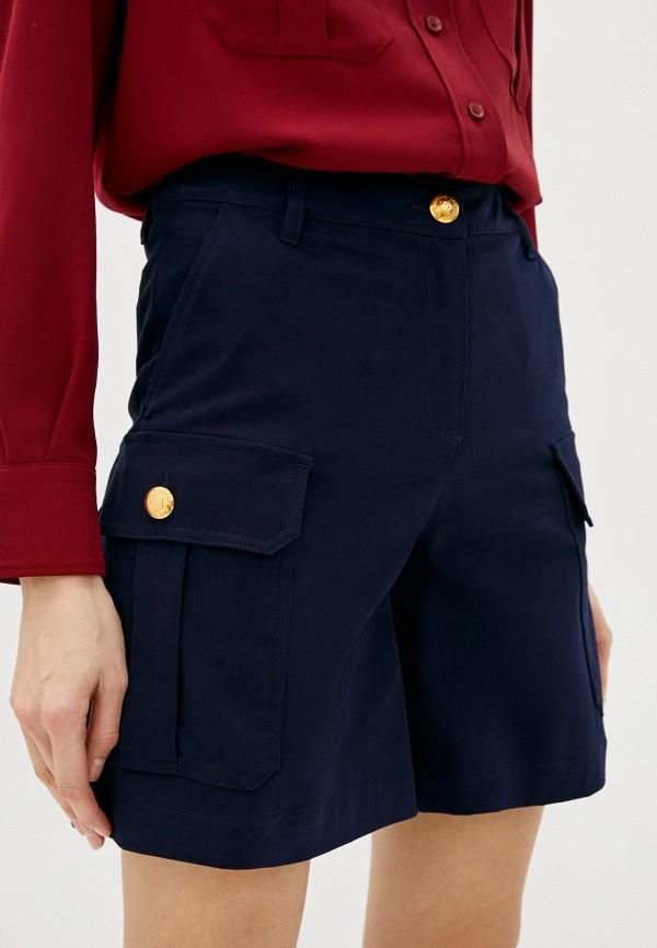 женские повседневные шорты love moschino, синие