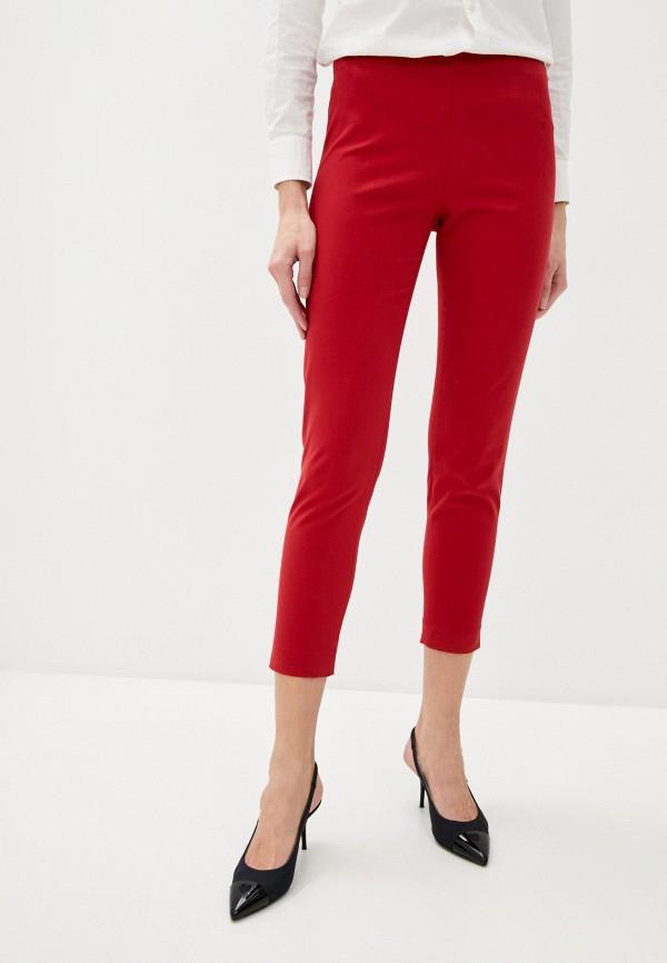 женские повседневные брюки love moschino, красные