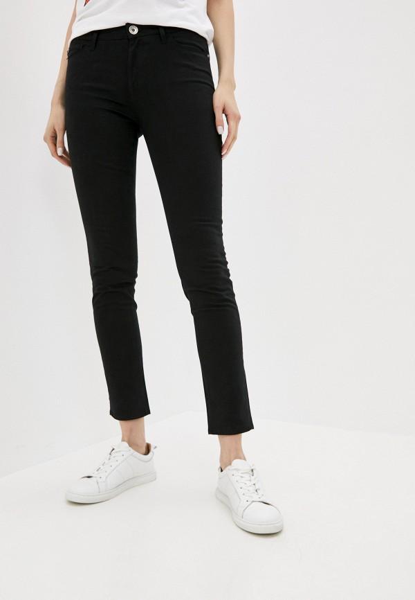 женские повседневные брюки love moschino, черные