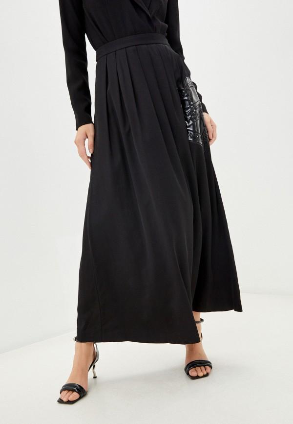 женская юбка love moschino, черная