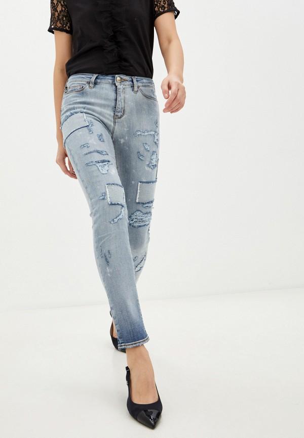 женские джинсы love moschino, голубые