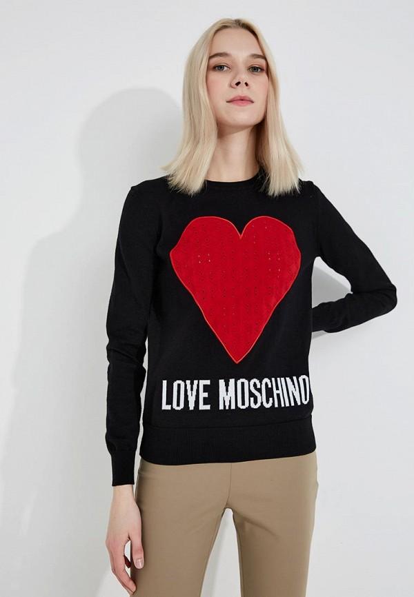 Джемпер Love Moschino Love Moschino LO416EWYPT06 свитшот love moschino love moschino lo416ewaevl8