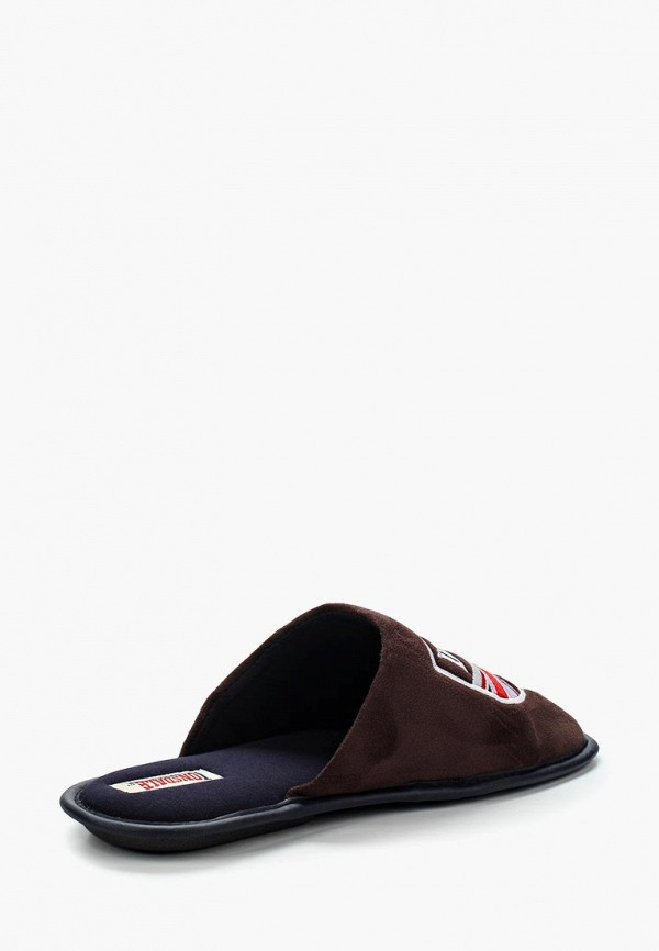 Фото 2 - Тапочки Lonsdale коричневого цвета