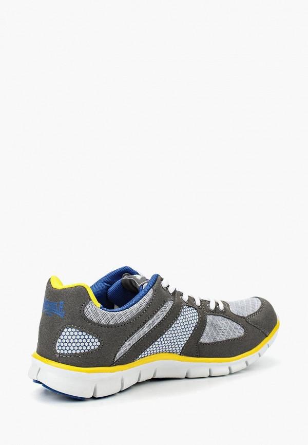 Фото 2 - мужские кроссовки Lonsdale серого цвета