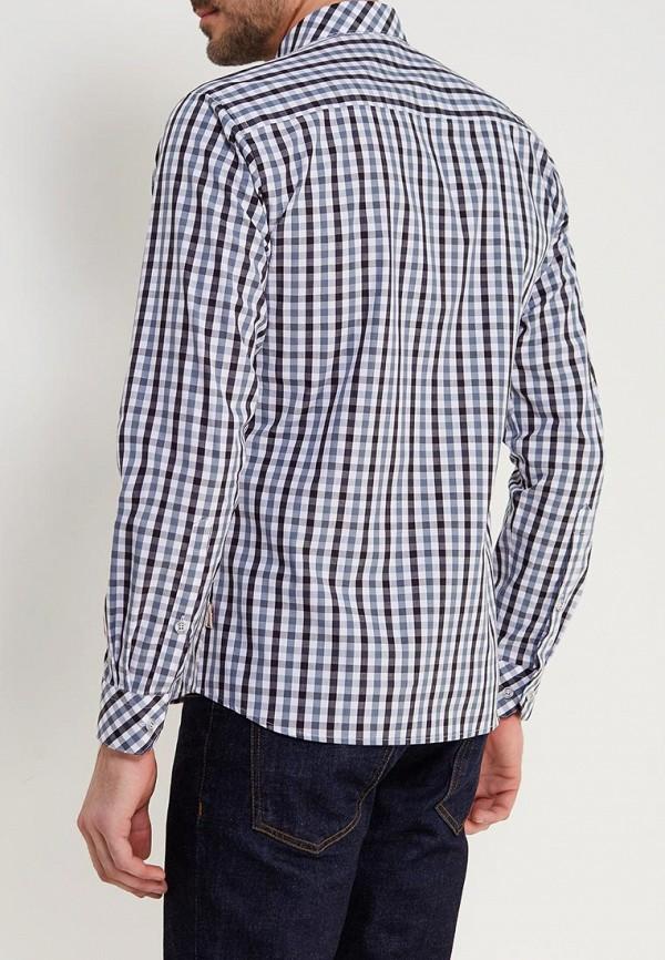 Фото 3 - мужскую рубашку Lonsdale серого цвета