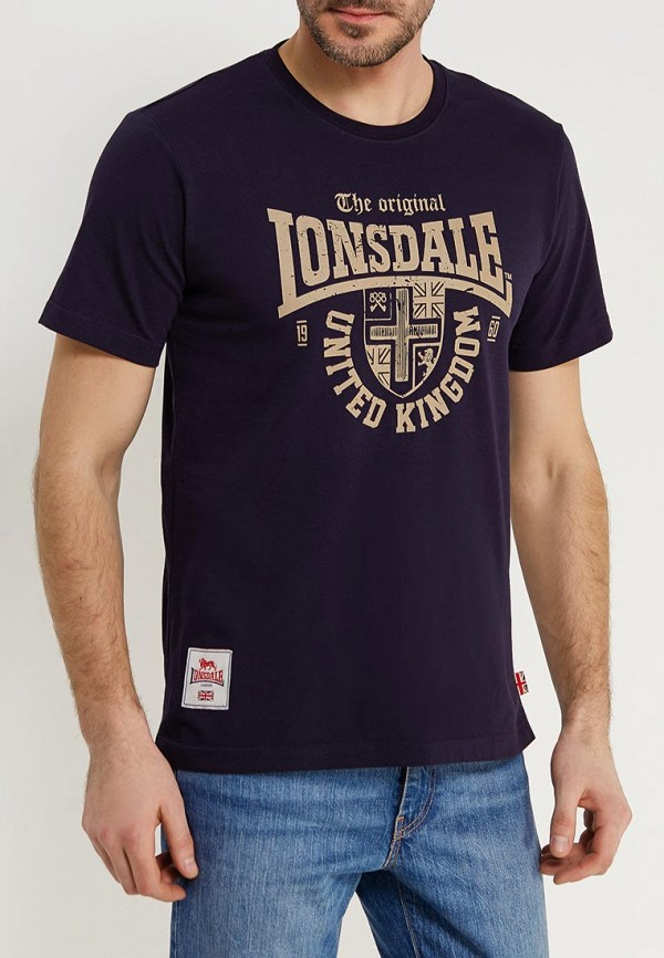 Футболка Lonsdale Lonsdale LO789EMACPE0 цена