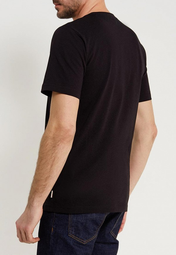 Фото 3 - мужскую футболку Lonsdale черного цвета