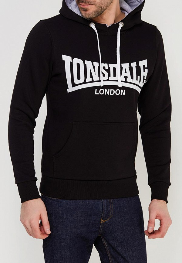 Худи Lonsdale Lonsdale LO789EMACPE7 худи print bar skull