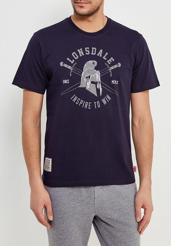 Футболка Lonsdale Lonsdale LO789EMAPKC5 футболка lonsdale lonsdale lo789emarb48