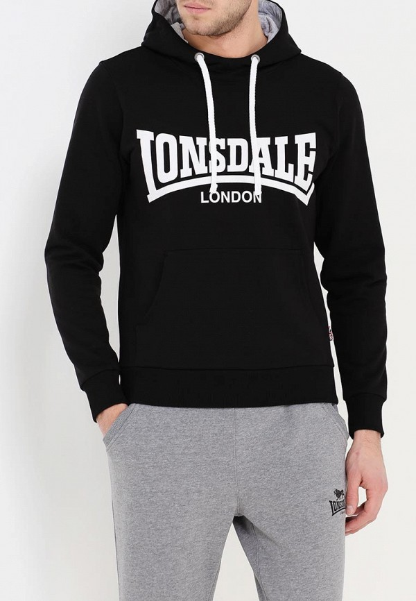 Худи Lonsdale Lonsdale LO789EMARB17 худи print bar skull woman
