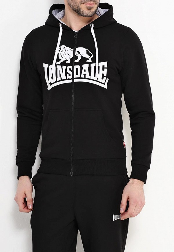 Толстовка Lonsdale Lonsdale LO789EMARB21 толстовка lonsdale lonsdale lo789emsbt47