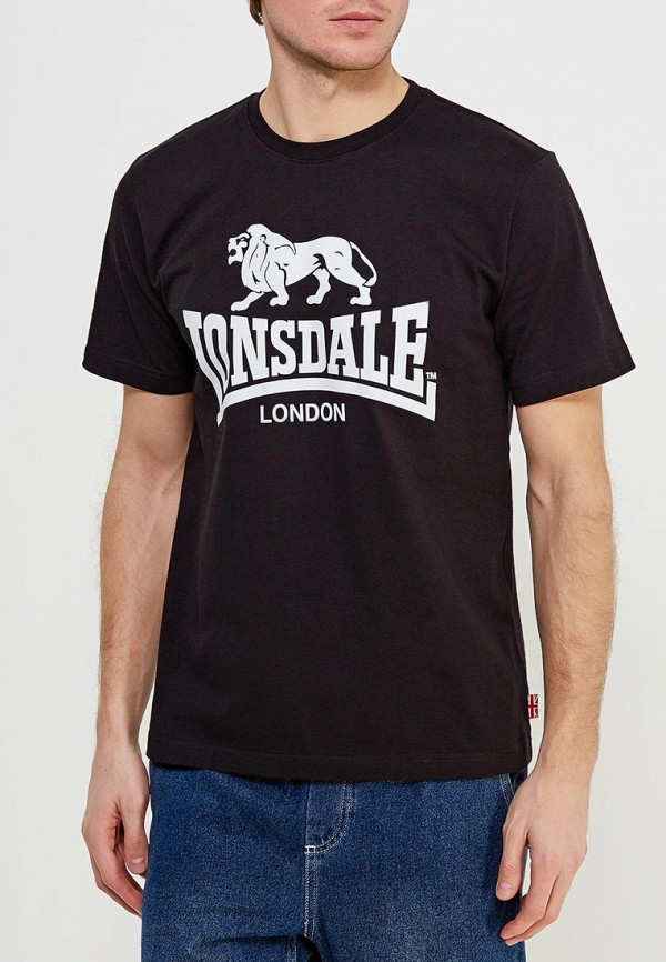Футболка Lonsdale Lonsdale LO789EMARB43 толстовка lonsdale lonsdale lo789emsbt59