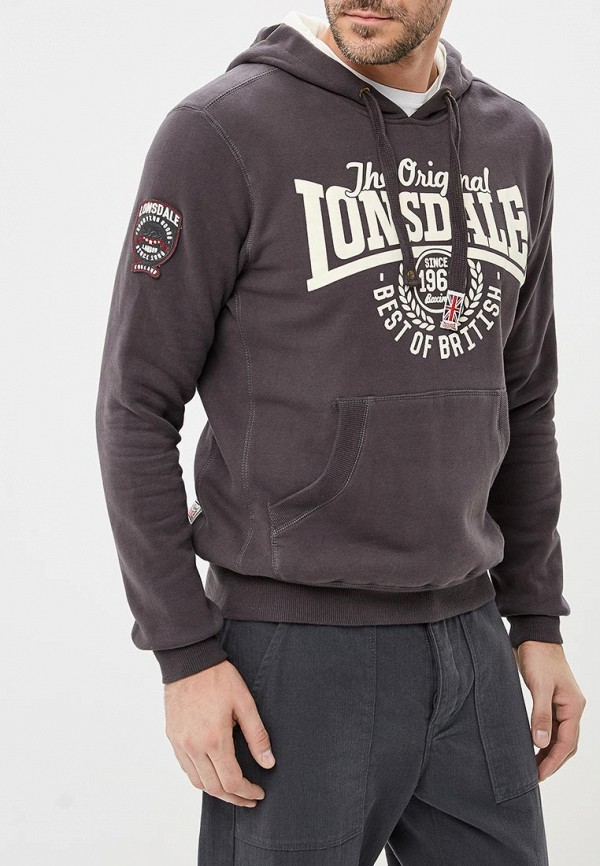 Худи Lonsdale Lonsdale LO789EMCSC34 худи print bar fall out boy