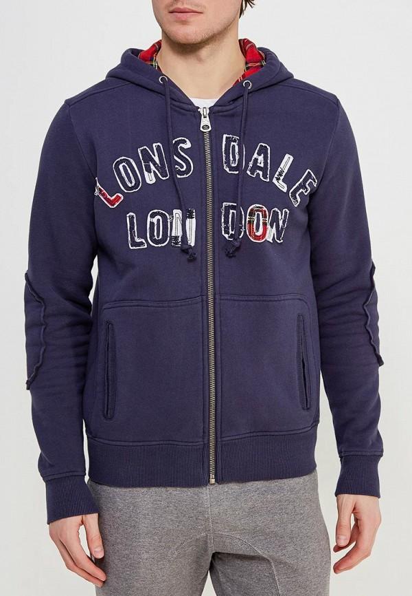 Толстовка Lonsdale Lonsdale LO789EMCSC38 толстовка lonsdale lonsdale lo789emsbt58