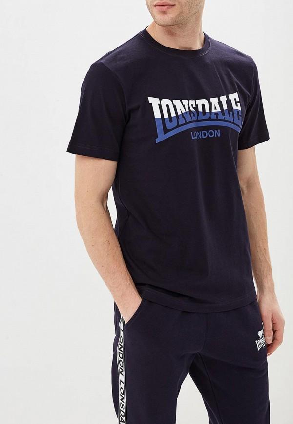мужская футболка lonsdale, синяя