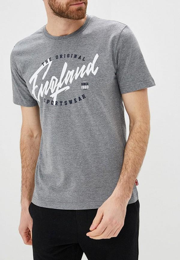 Купить Футболка Lonsdale, lo789emdzoa2, серый, Весна-лето 2019