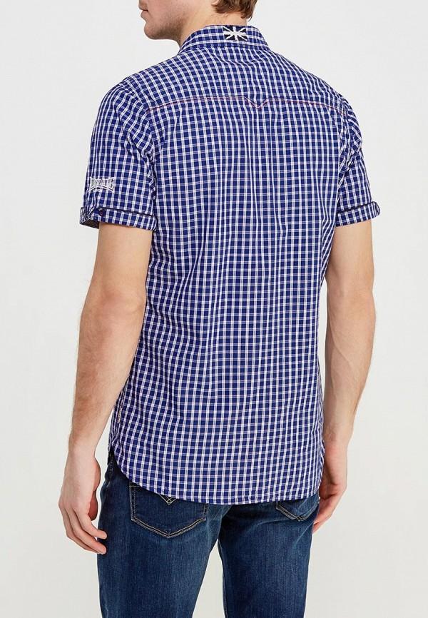 Фото 3 - мужскую рубашку Lonsdale синего цвета