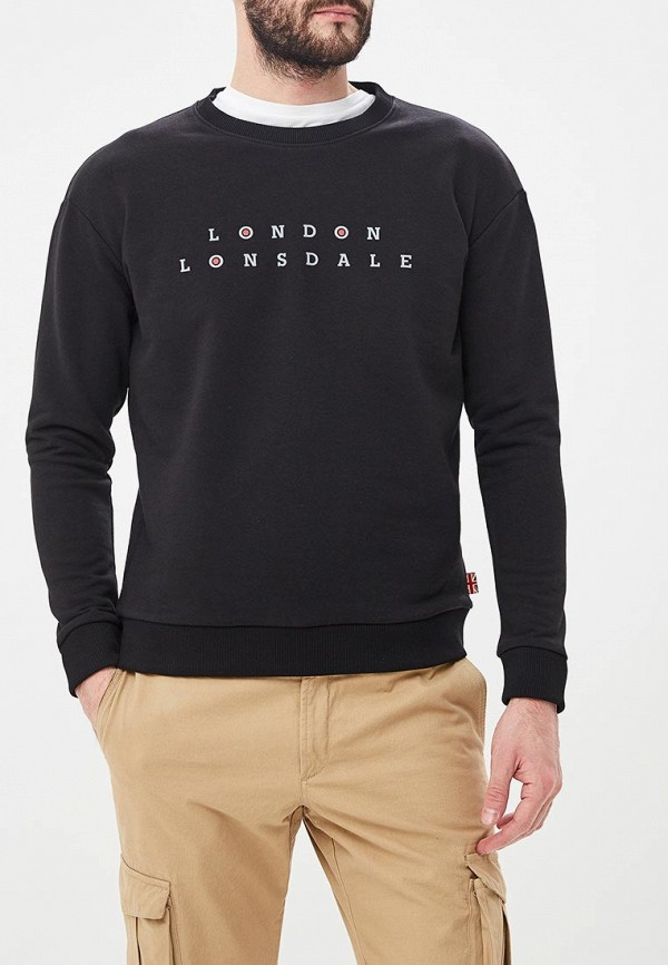 Свитшот Lonsdale Lonsdale LO789EMETCW2 поло lonsdale lonsdale lo789embiqu4
