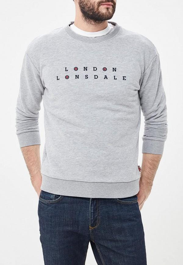 Свитшот Lonsdale Lonsdale LO789EMETCW4 свитшот lonsdale lonsdale lo789emsbt40